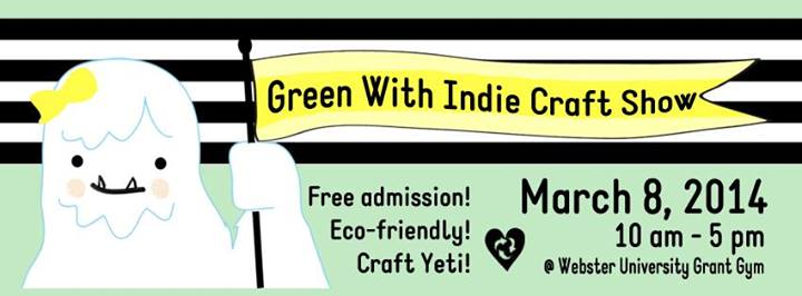 Green with Indie Flyer