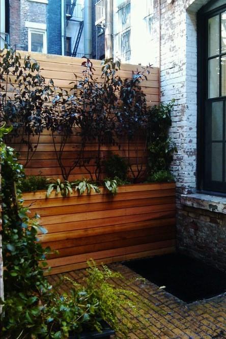Greenwich Village Garden, Groundworks, Gardenista
