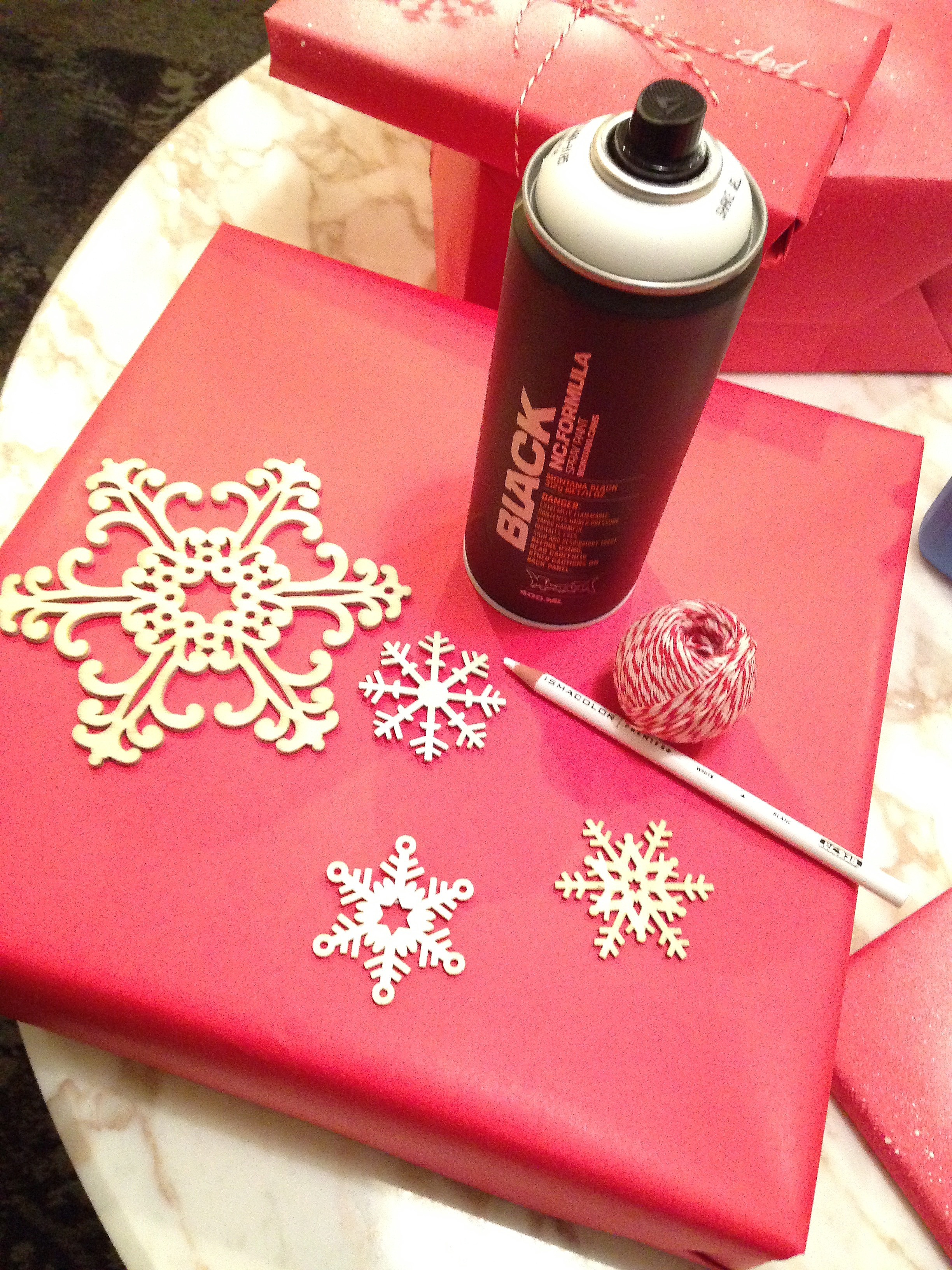 snowflake paper supplies