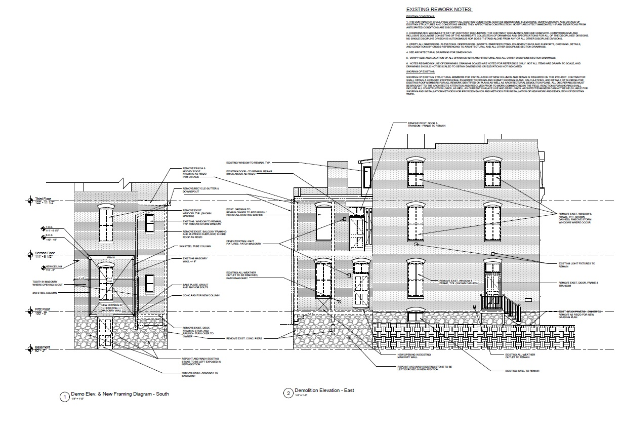 Demo Elevations