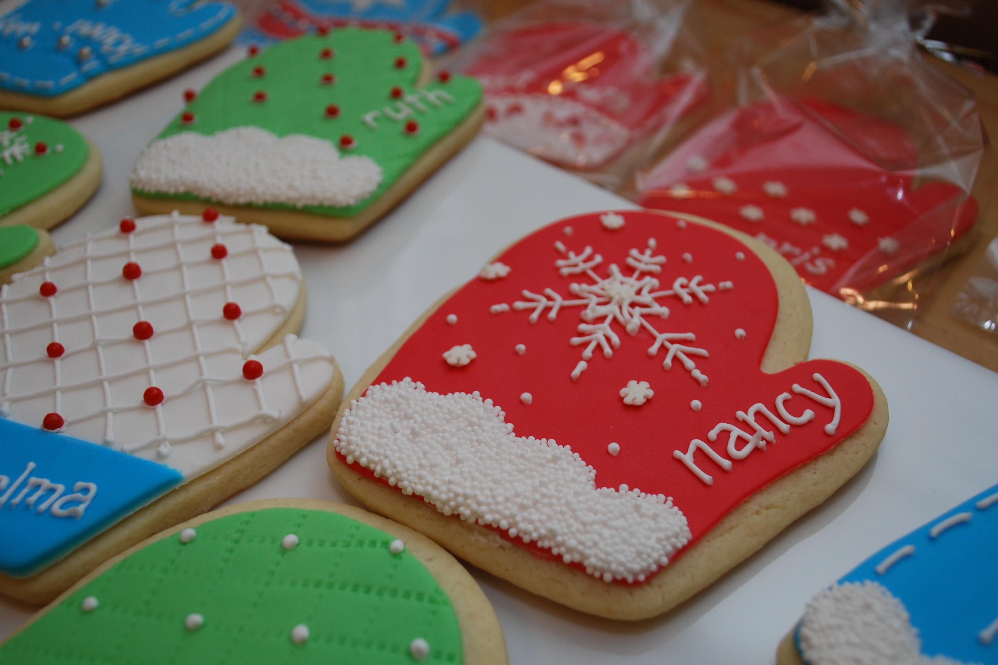 Mitten Cookies 2