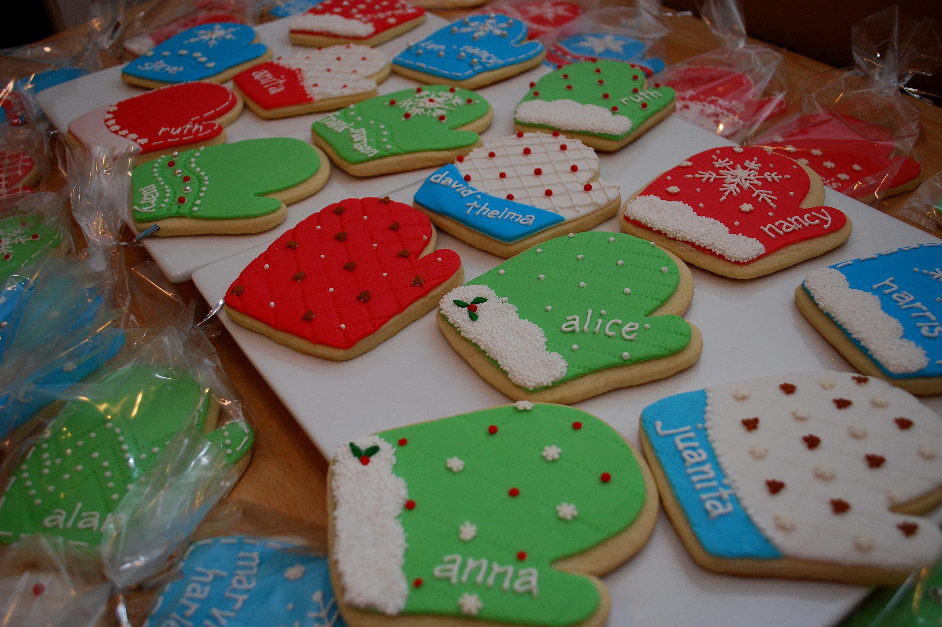 Mitten Cookies 3