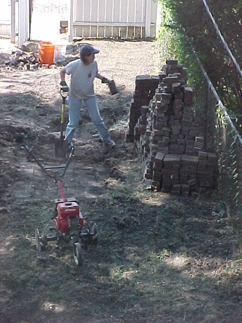 Digging up Bricks-Stack Grows